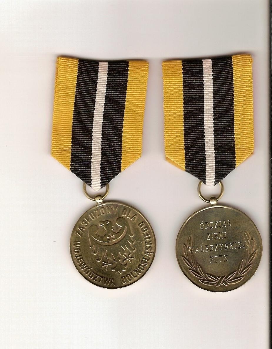 """Oddział """"Ziemi Wałbrzyskiej"""" – Dolnośląska Odznaka Honorowa"""